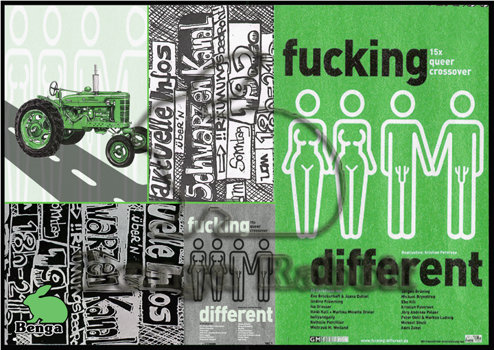 F**king Different Green