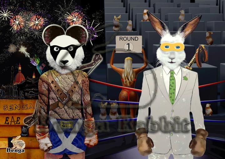 Panda VS Rabbit-H(1)