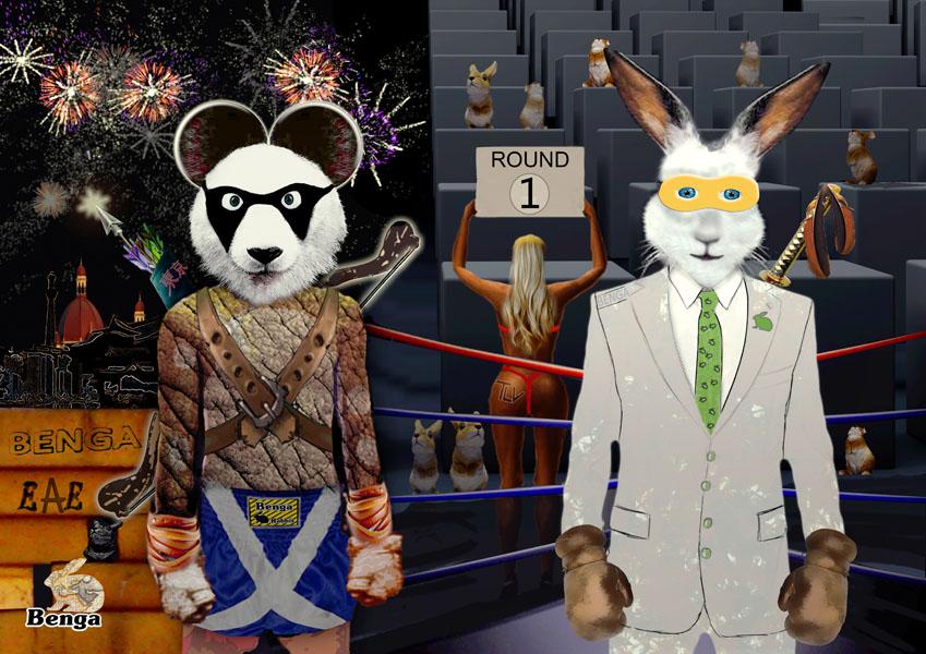 Panda Vs Rabbit